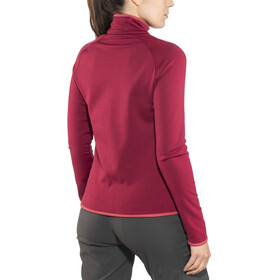 Odlo Carve Warm Midlayer Women red